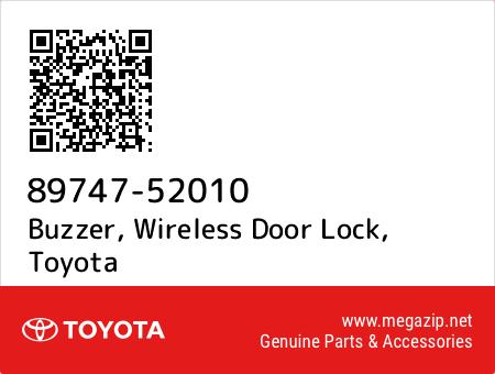 buzzer, wireless door lock, toyota 89747-52010 oem parts