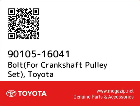 Toyota 90105-16041 Crankshaft Pulley Bolt