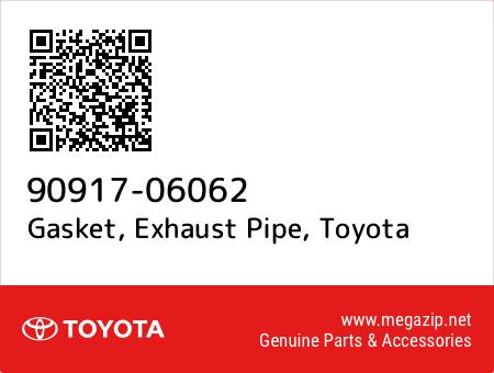 Genuine OEM Toyota Exhaust Pipe Gasket 9091706062