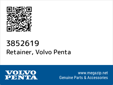 Retainer, Volvo Penta 3852619 oem parts