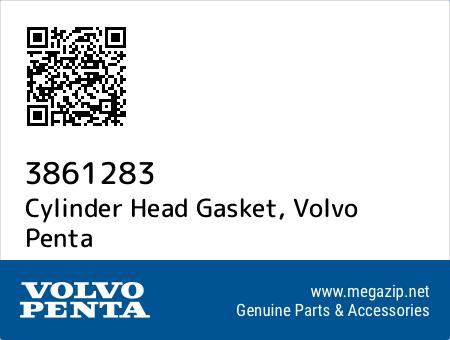 Cylinder Head Gasket, Volvo Penta 3861283 oem parts