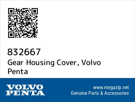 Gear Housing Cover, Volvo Penta 832667 oem parts