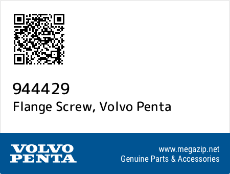 Flange Screw, Volvo Penta 944429 oem parts
