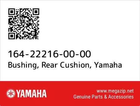 Bushing, Rear Cushion, Yamaha 164-22216-00-00 oem parts