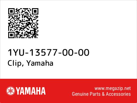 Clip, Yamaha 1YU-13577-00-00 oem parts
