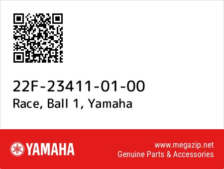 Race, Ball 1, Yamaha 22F-23411-01-00 oem parts