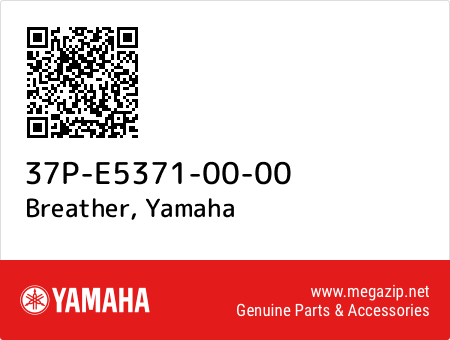 Breather, Yamaha 37P-E5371-00-00 oem parts