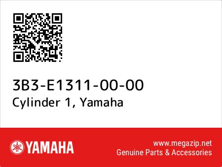 Cylinder 1, Yamaha 3B3-E1311-00-00 oem parts