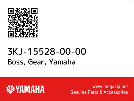 Boss, Gear, Yamaha 3KJ-15528-00-00 oem parts