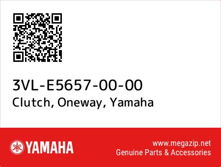 Clutch, Oneway, Yamaha 3VL-E5657-00-00 oem parts