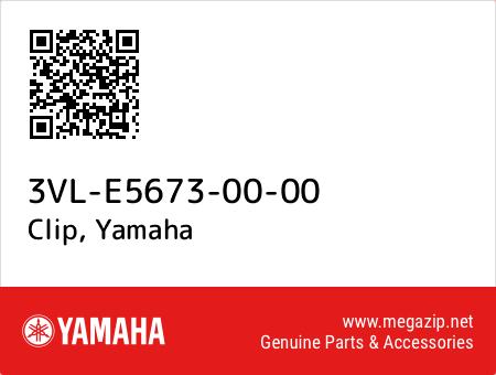 Clip, Yamaha 3VL-E5673-00-00 oem parts