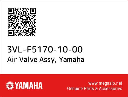 Air Valve Assy, Yamaha 3VL-F5170-10-00 oem parts