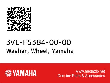 Washer, Wheel, Yamaha 3VL-F5384-00-00 oem parts