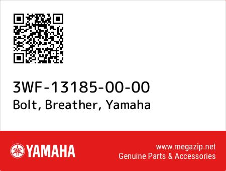 Bolt, Breather, Yamaha 3WF-13185-00-00 oem parts
