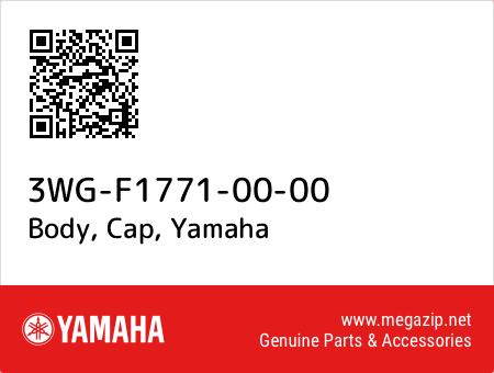 Body, Cap, Yamaha 3WG-F1771-00-00 oem parts