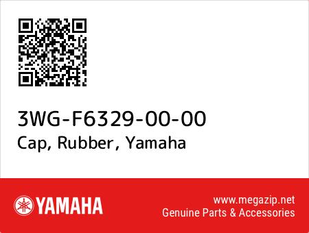 Cap, Rubber, Yamaha 3WG-F6329-00-00 oem parts