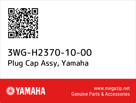 Plug Cap Assy, Yamaha 3WG-H2370-10-00 oem parts