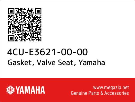 Gasket, Valve Seat, Yamaha 4CU-E3621-00-00 oem parts