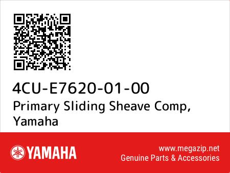 Primary Sliding Sheave Comp, Yamaha 4CU-E7620-01-00 oem parts