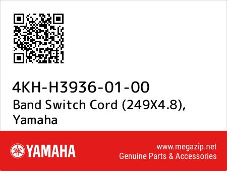 Band Switch Cord (249X4.8), Yamaha 4KH-H3936-01-00 oem parts