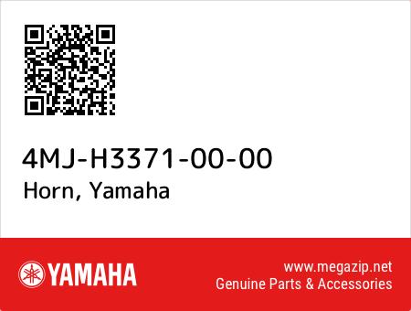 Horn, Yamaha 4MJ-H3371-00-00 oem parts