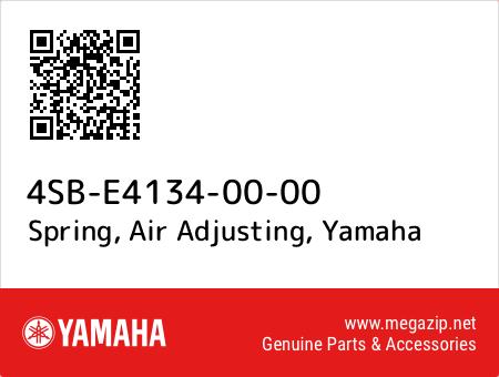 Spring, Air Adjusting, Yamaha 4SB-E4134-00-00 oem parts