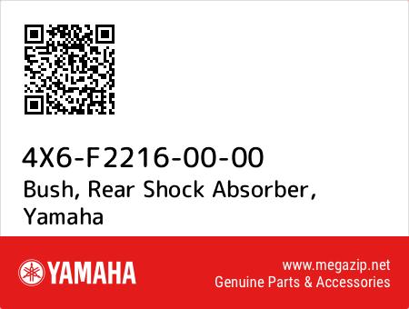 Bush, Rear Shock Absorber, Yamaha 4X6-F2216-00-00 oem parts