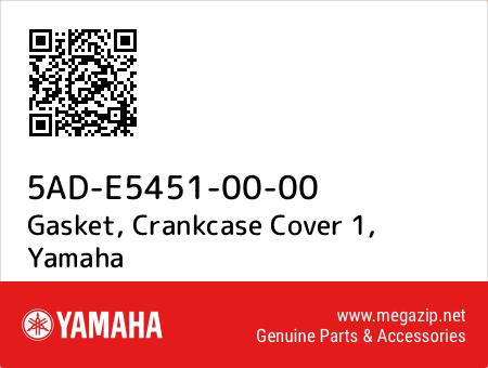 Gasket, Crankcase Cover 1, Yamaha 5AD-E5451-00-00 oem parts