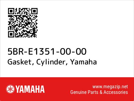 Gasket, Cylinder, Yamaha 5BR-E1351-00-00 oem parts