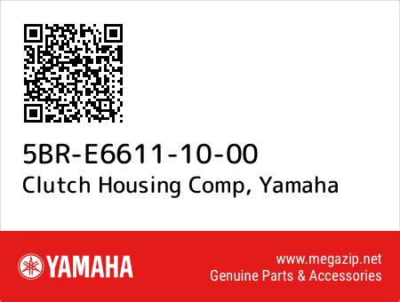 Clutch Housing Comp, Yamaha 5BR-E6611-10-00 oem parts