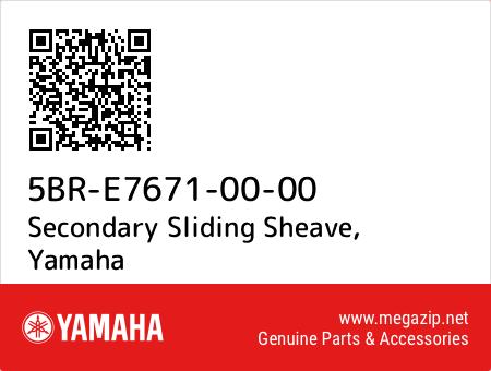 Secondary Sliding Sheave, Yamaha 5BR-E7671-00-00 oem parts
