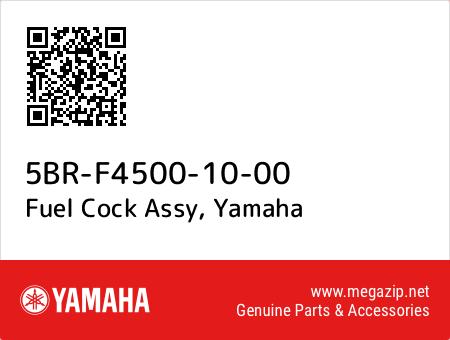 Fuel Cock Assy, Yamaha 5BR-F4500-10-00 oem parts