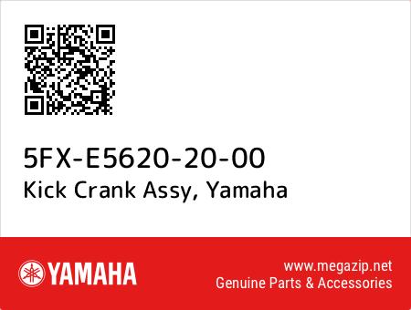Kick Crank Assy, Yamaha 5FX-E5620-20-00 oem parts
