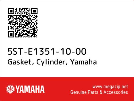 Gasket, Cylinder, Yamaha 5ST-E1351-10-00 oem parts