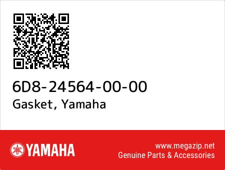 Gasket, Yamaha 6D8-24564-00-00 oem parts