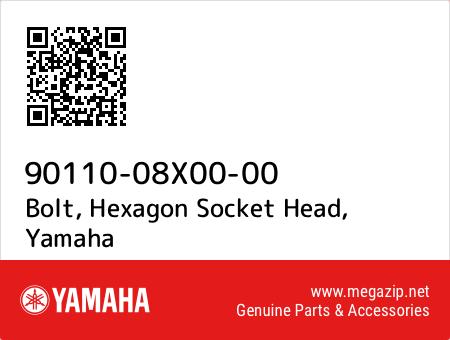 Bolt, Hexagon Socket Head, Yamaha 90110-08X00-00 oem parts