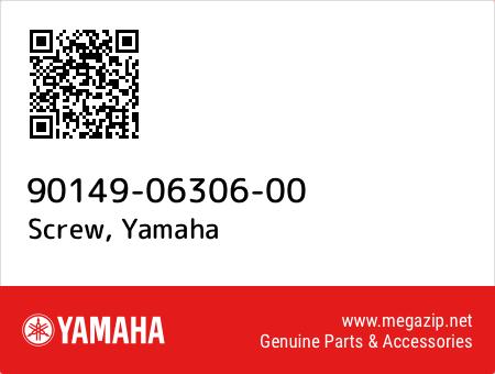 Screw, Yamaha 90149-06306-00 oem parts