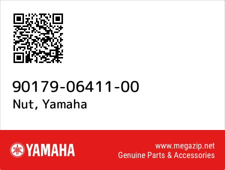 Nut, Yamaha 90179-06411-00 oem parts