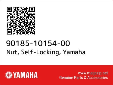 Nut, Self-Locking, Yamaha 90185-10154-00 oem parts