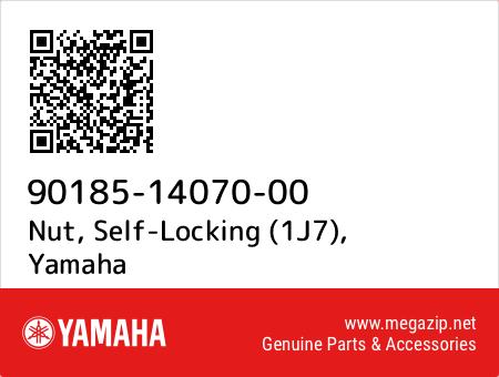 Nut, Self-Locking (1J7), Yamaha 90185-14070-00 oem parts