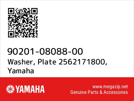 Washer, Plate 2562171800, Yamaha 90201-08088-00 oem parts