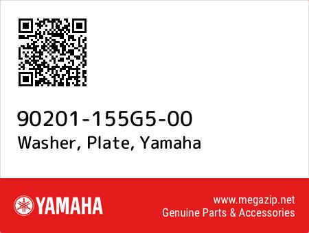 Washer, Plate, Yamaha 90201-155G5-00 oem parts