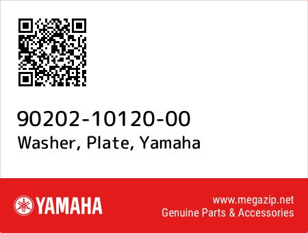 Washer, Plate, Yamaha 90202-10120-00 oem parts