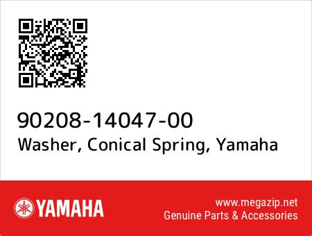 Washer, Conical Spring, Yamaha 90208-14047-00 oem parts