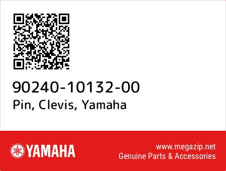 Pin, Clevis, Yamaha 90240-10132-00 oem parts