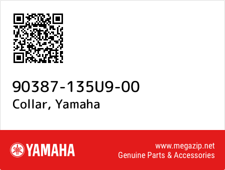 Collar, Yamaha 90387-135U9-00 oem parts