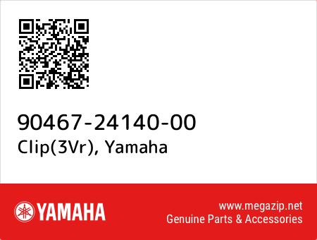 Clip(3Vr), Yamaha 90467-24140-00 oem parts