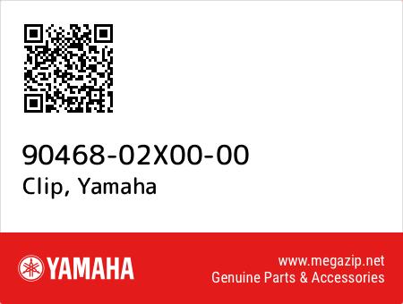 Clip, Yamaha 90468-02X00-00 oem parts