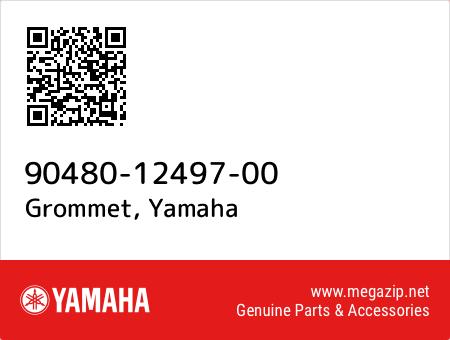 Grommet, Yamaha 90480-12497-00 oem parts