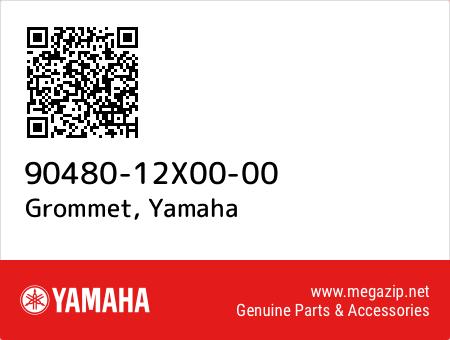 Grommet, Yamaha 90480-12X00-00 oem parts
